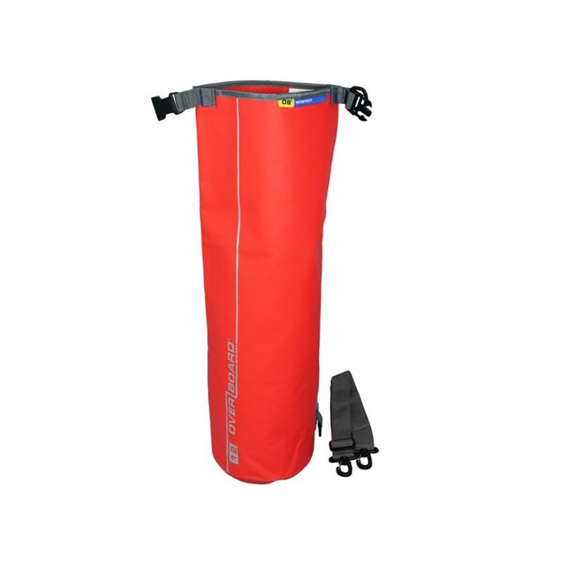 Overboard Dry Tube Bag 12 Liter red