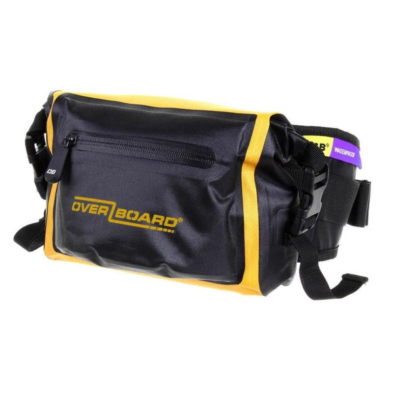 Overboard Waterproof Waist Pack LIGHT 3 L yellow