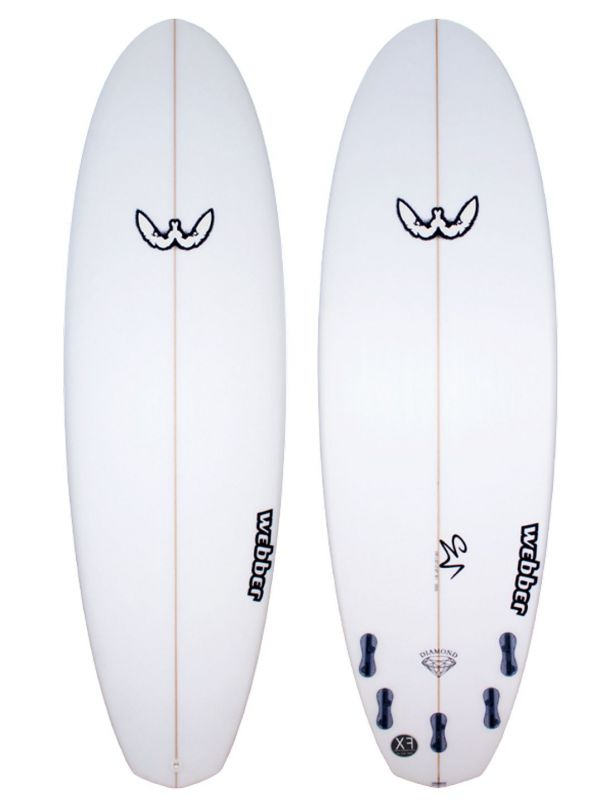 Surfboard WEBBER - Double Diamond 5.8 XF