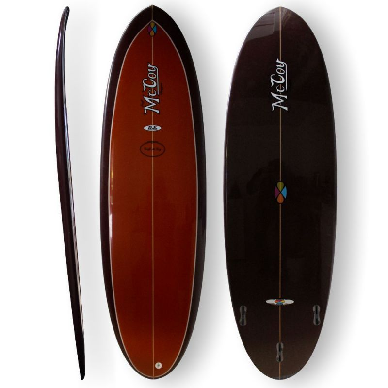 Surfboard McCoy - Double Ender 6.4 XF brown