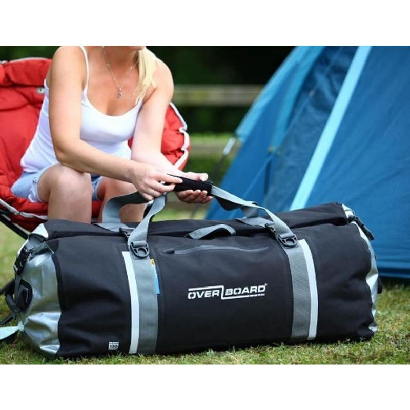 Overboard Waterproof Duffel Bag 130 Liters Black