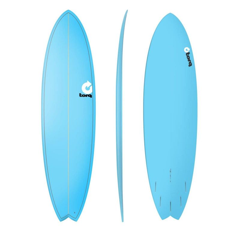Surfboard TORQ Epoxy 7.2 Fish Blue
