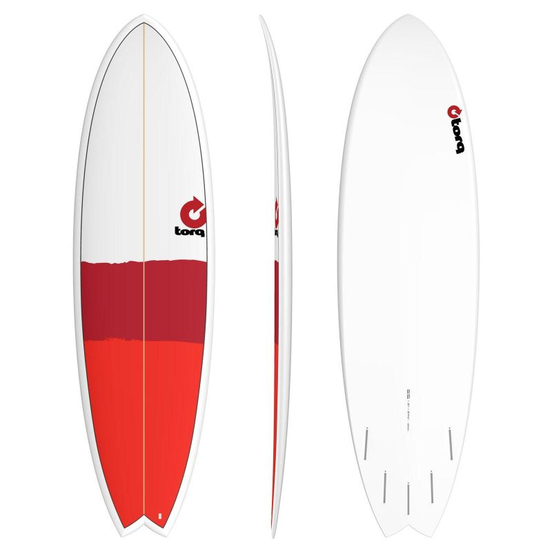 Surfboard TORQ Epoxy 6.6 Fish new classic