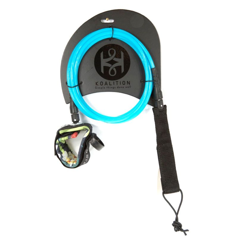 KOALITION Surfboard KNEE Leash 9.0 245cm 7mm Bl