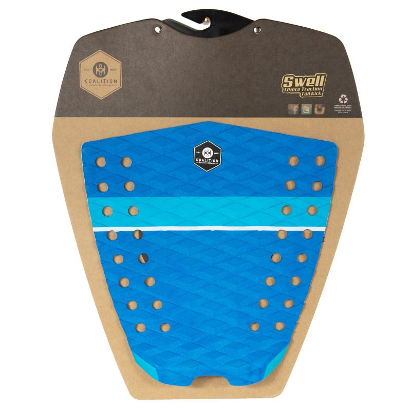 KOALITION Footpad Deck Grip SWELL Blue 1pc
