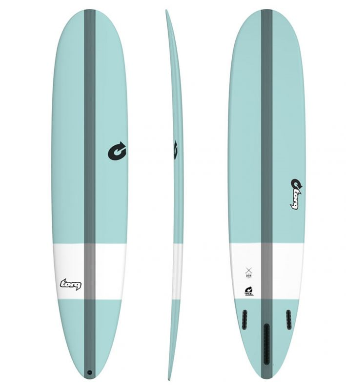 Surfboard TORQ Epoxy TEC The Don 8.6 tint green