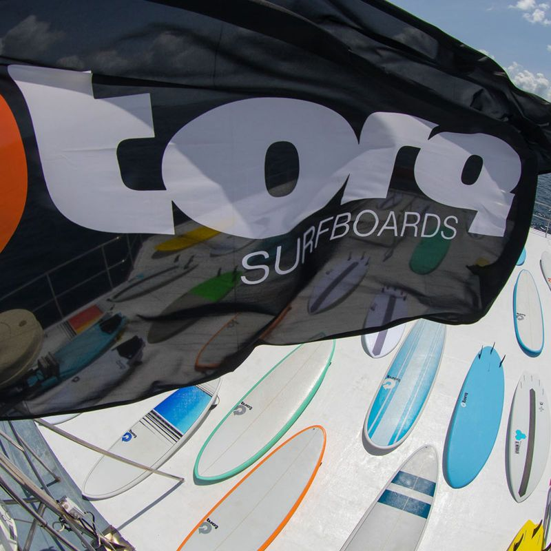 Surfboard TORQ Epoxy TET 5.11 Fish Full Fade