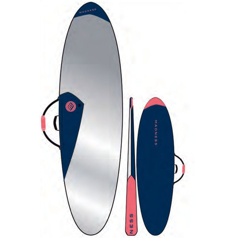 MADNESS Boardbag PE 7.6 Funboard Blue Red