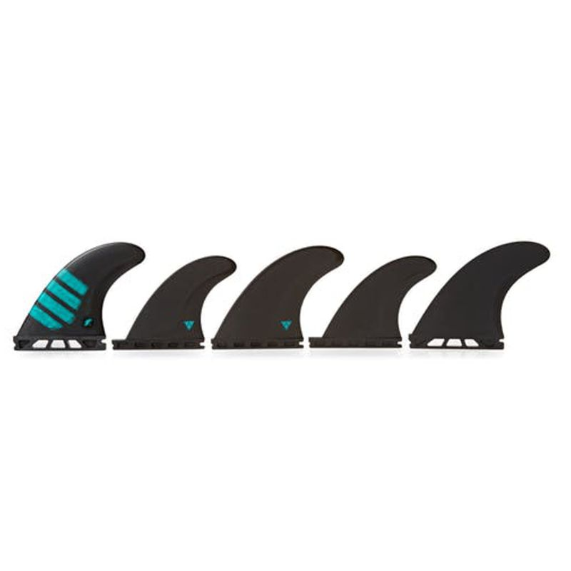 FUTURES  Fins Quad Thruster 5 Set F8 Alpha