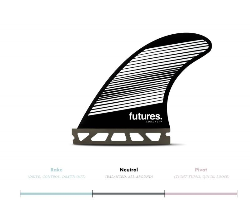 FUTURES Fins Thruster Set F4 Honeycomb Legacy