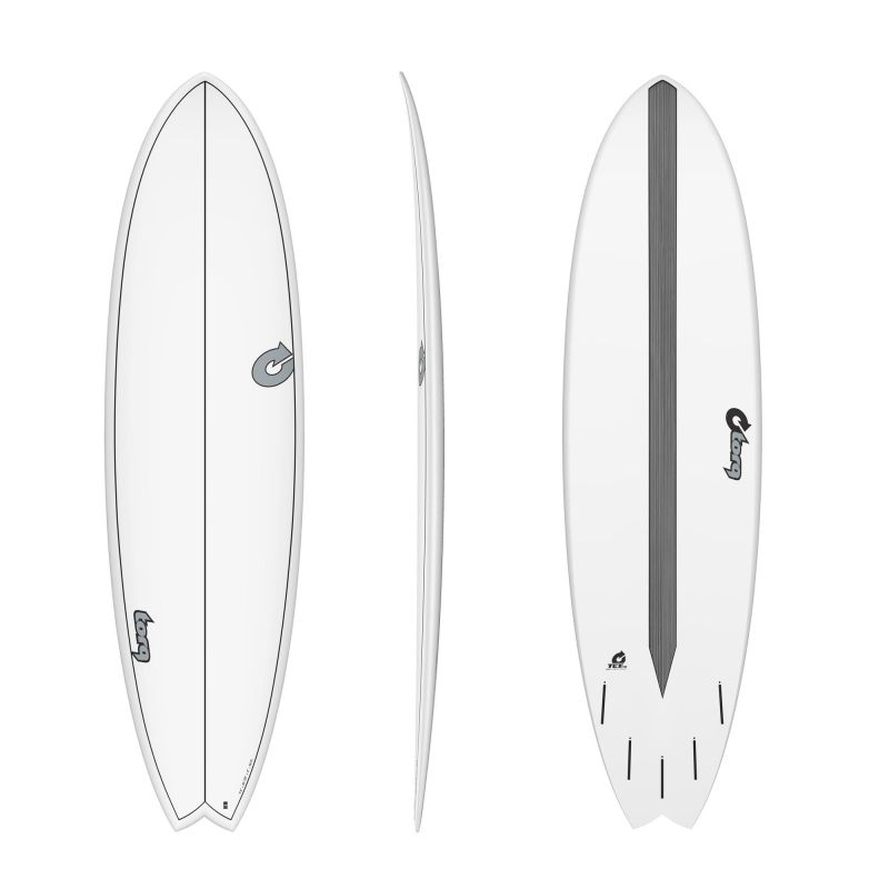 Surfboard TORQ Epoxy TET CS 7.2 Fish Carbon