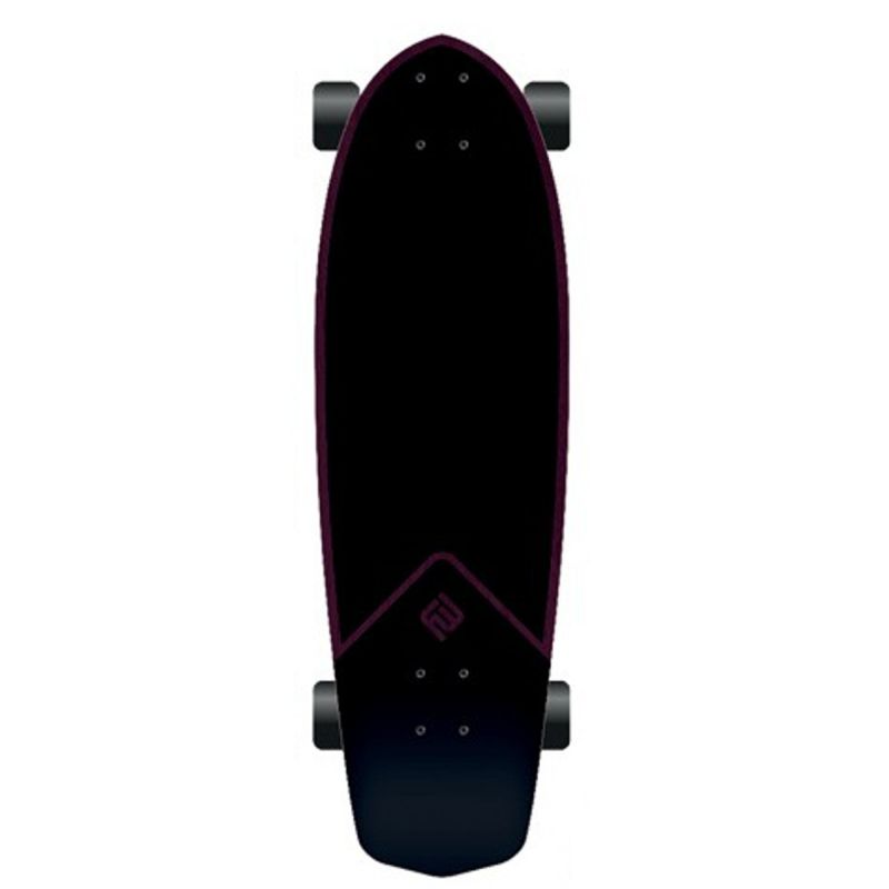 FLYING WHEELS Surf Skateboard 31,5 Belza