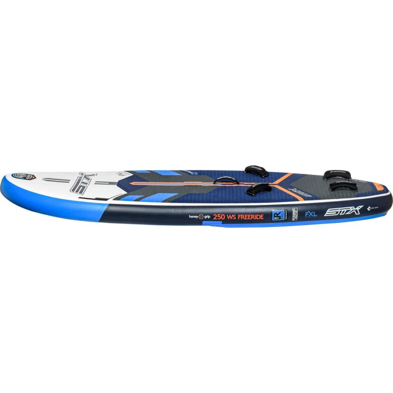 Inflatable Windsurf Board with footstraps