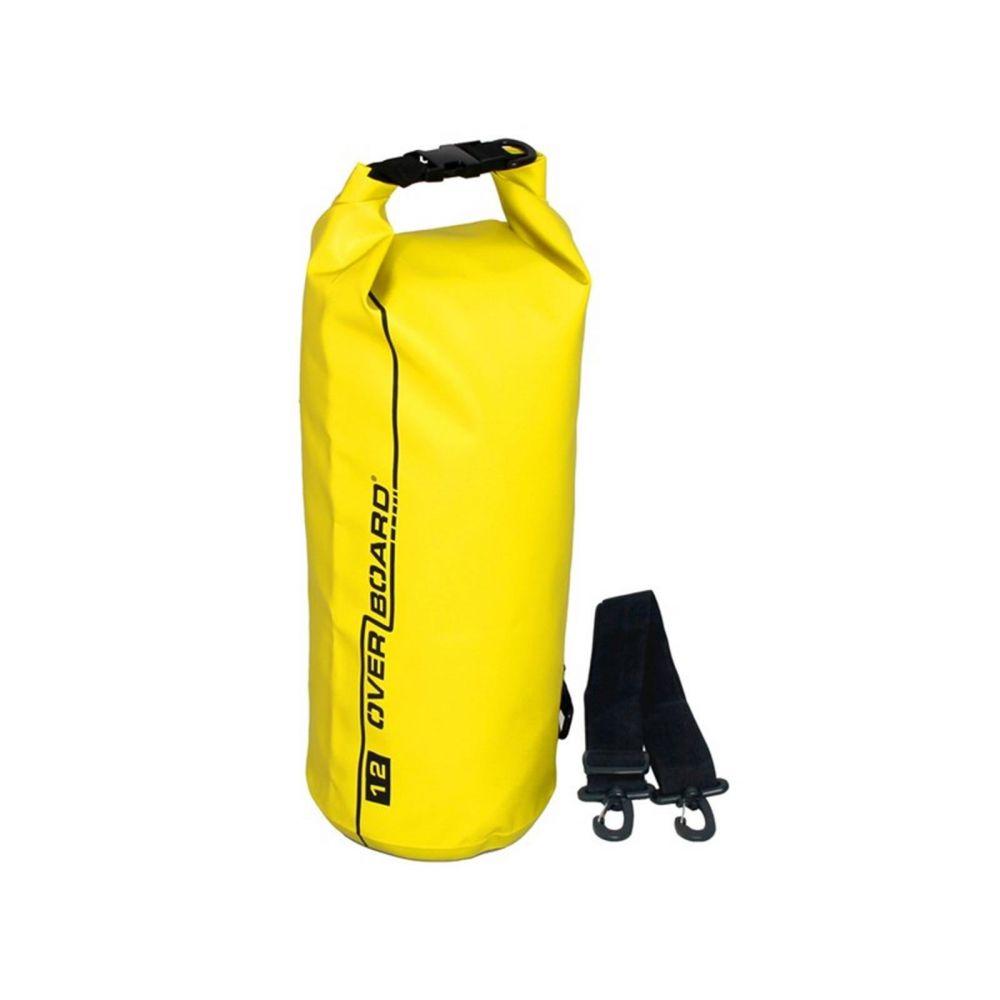 OverBoard sac étanche 12 litres jaune