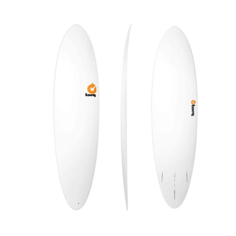 Surfboard TORQ Epoxy TET 7.2 Funboard  White