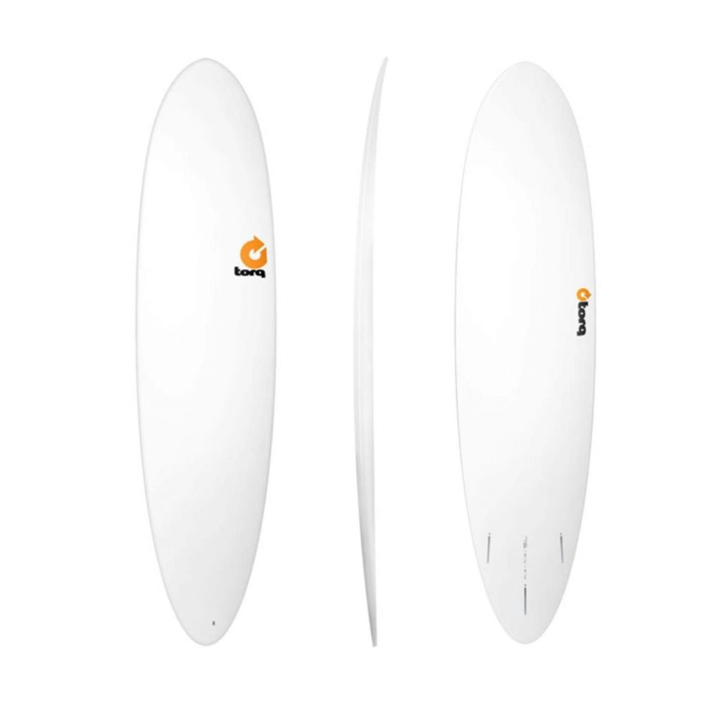 Surfboard TORQ Epoxy TET 7.6 Funboard  White