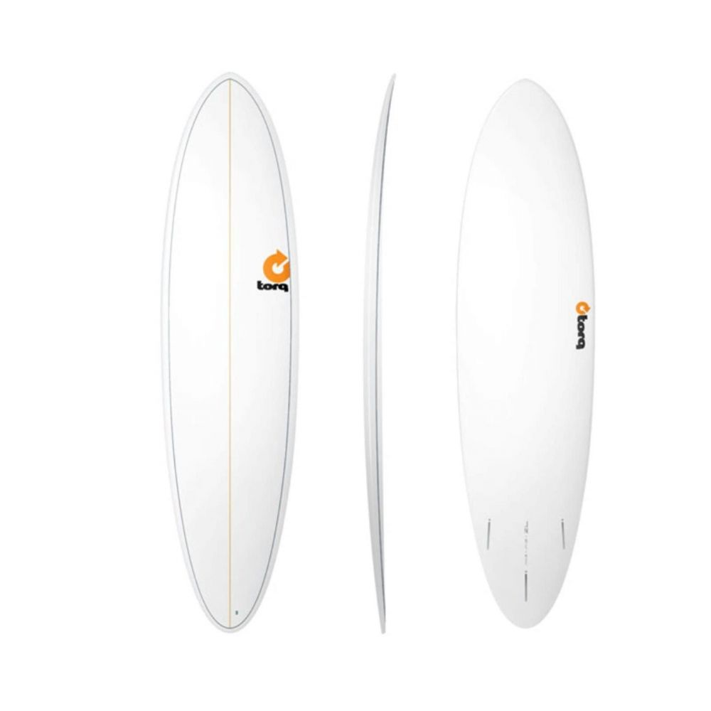 Surfboard TORQ Epoxy TET 7.2 Funboard  Pinlines