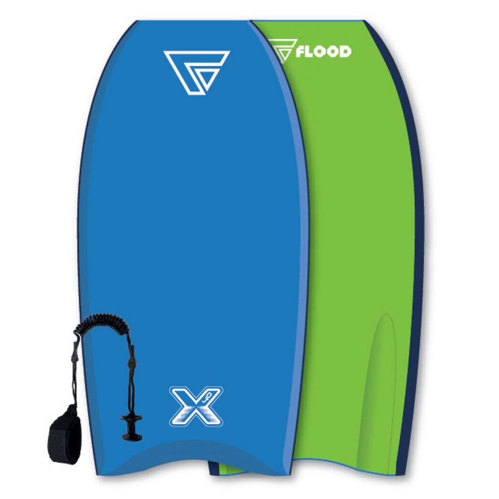 FLOOD Bodyboard Dynamx Stringer 40 Blue-Green