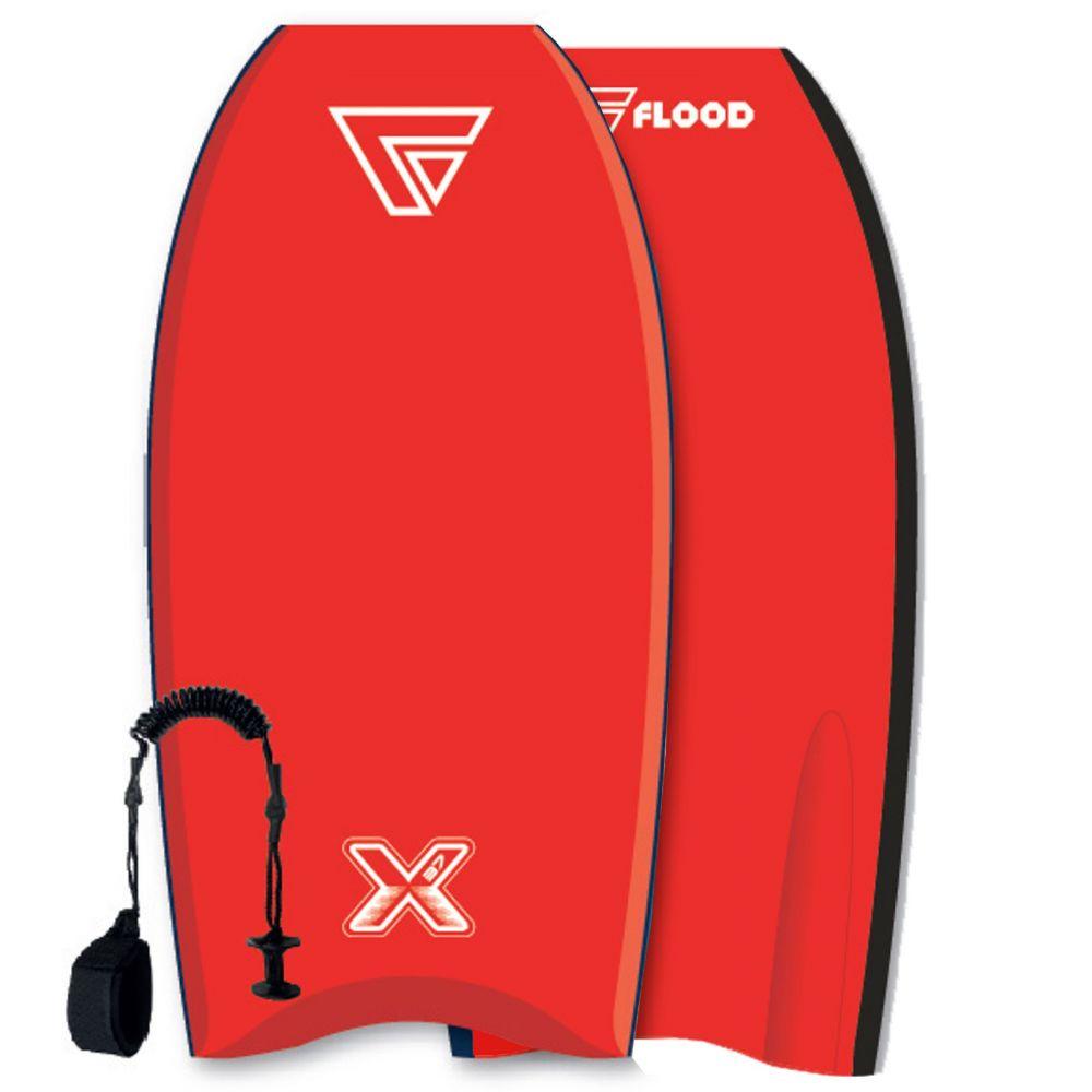 FLOOD Bodyboard Dynamx Stringer 41 rouge-rouge