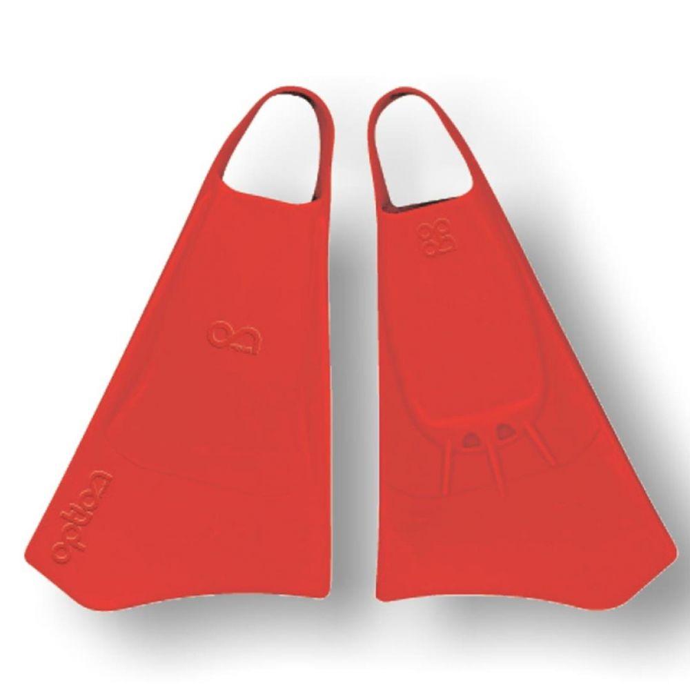 Bodyboard fin OPTION Gr S  38-40 Red