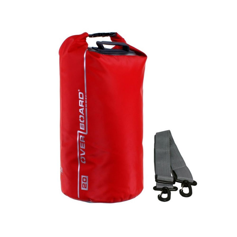 Overboard Dry Tube Bag 20 Liter red