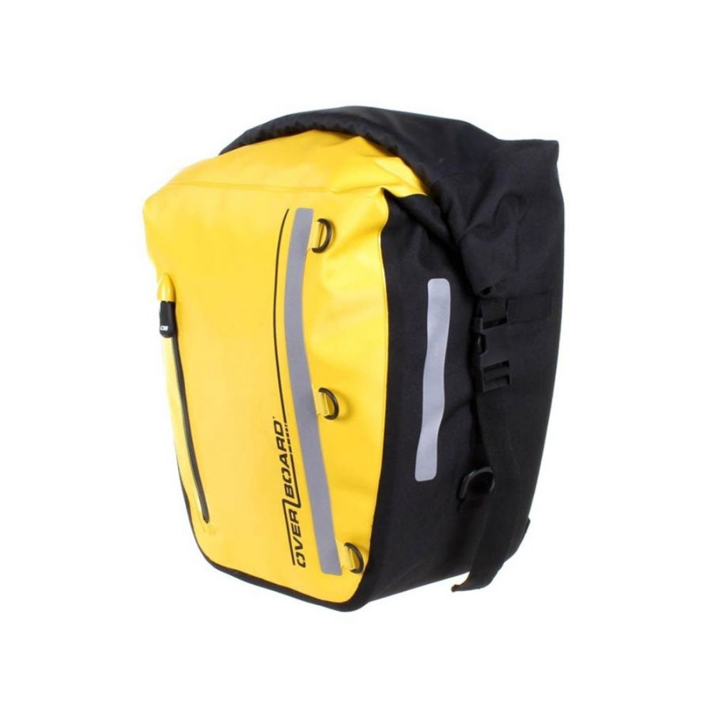 Overboard Dry Pannier Bike Bag Yellow