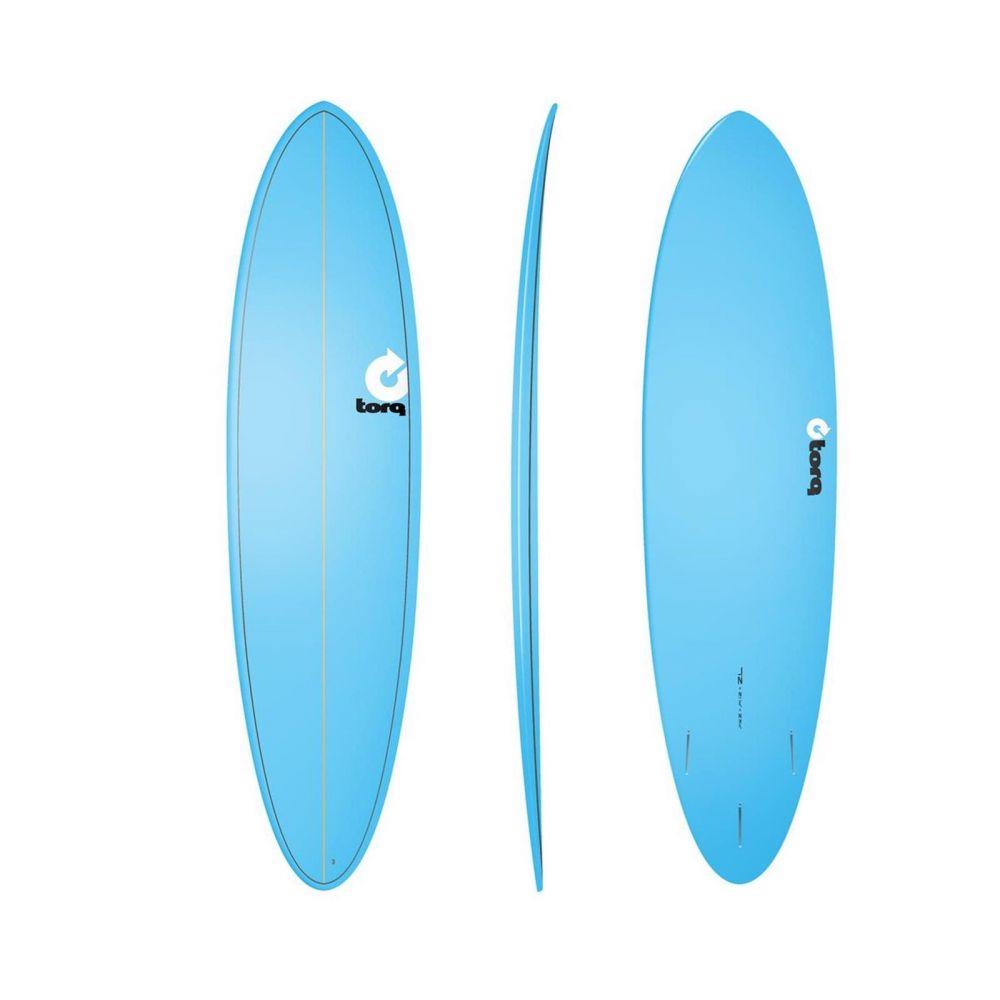 Surfboard TORQ Epoxy TET 7.2 Funboard  Blue