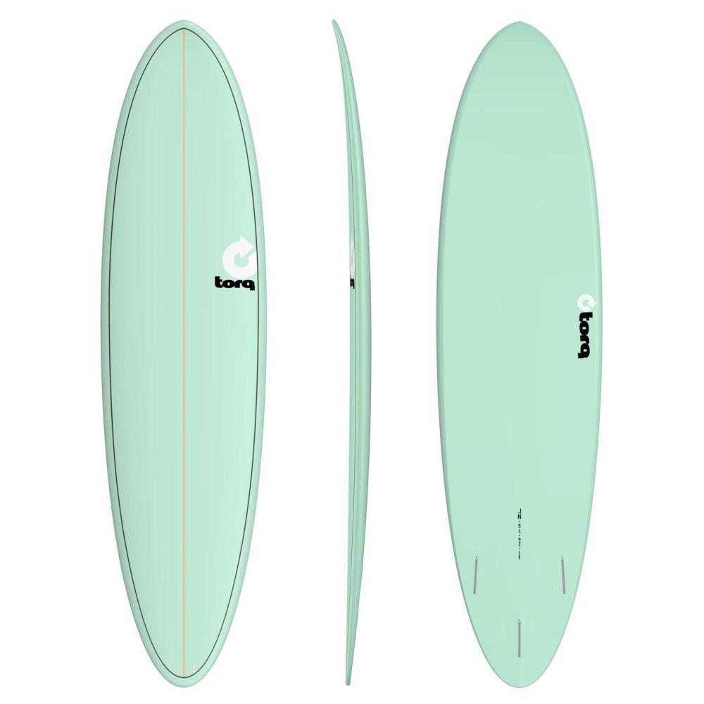 Surfboard TORQ Epoxy TET 7.2 Funboard  Seagreen