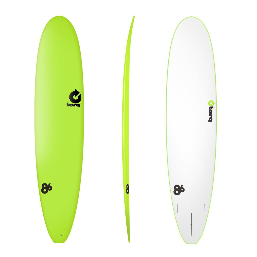 Surfboard TORQ Softboard 8.6 Longboard Yellow
