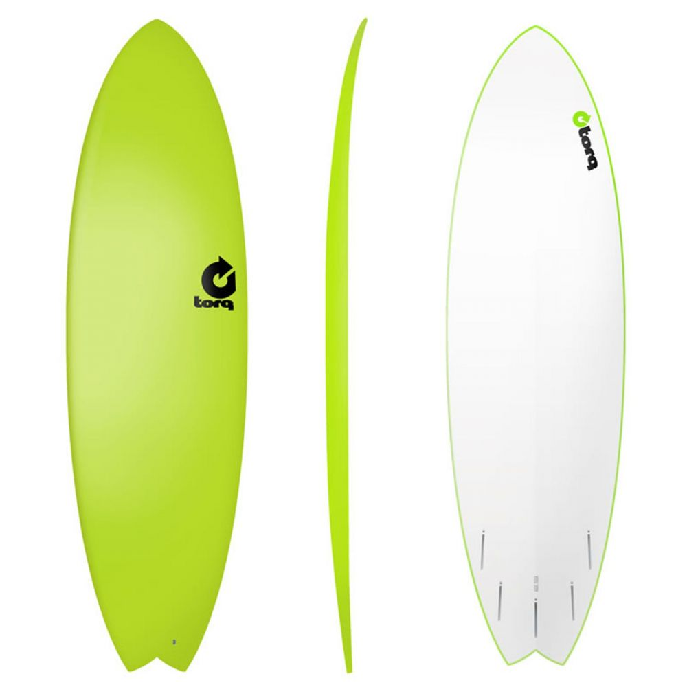 Surfboard TORQ Softboard 6.3 Fish Yellow