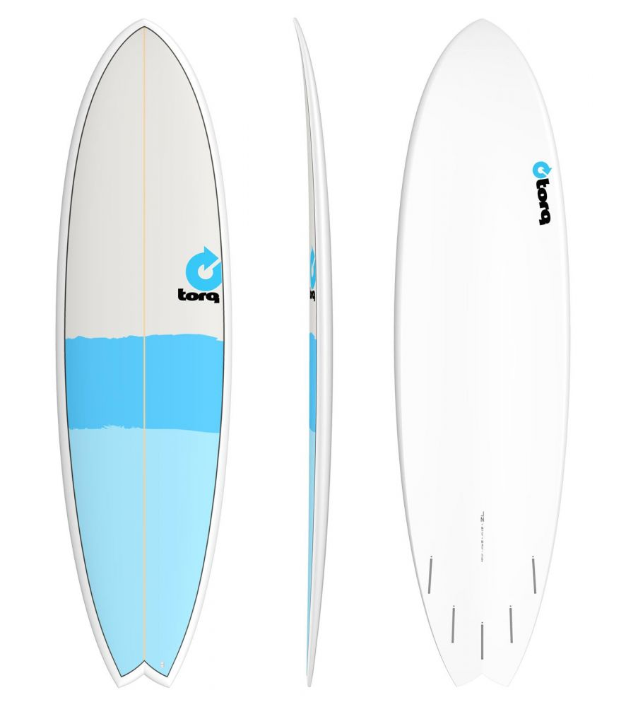 Surfboard TORQ Epoxy 7.2 Fish new classic