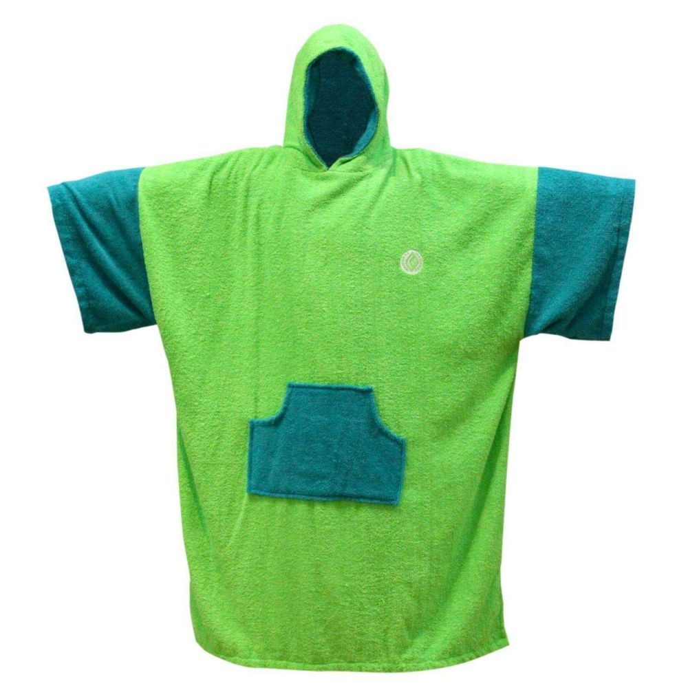 MADNESS Change Robe Poncho Unisize Lime-Teal