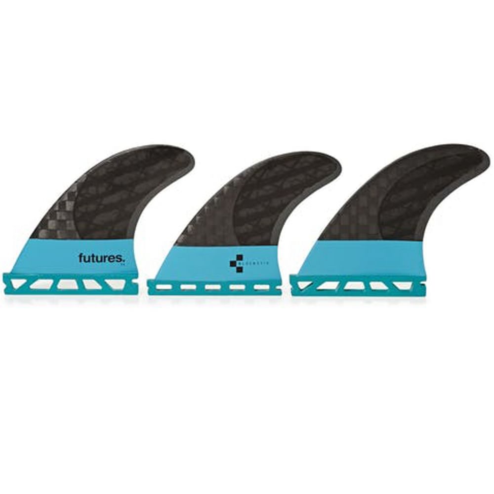 FUTURES Thruster Fin Set F4 Blackstix