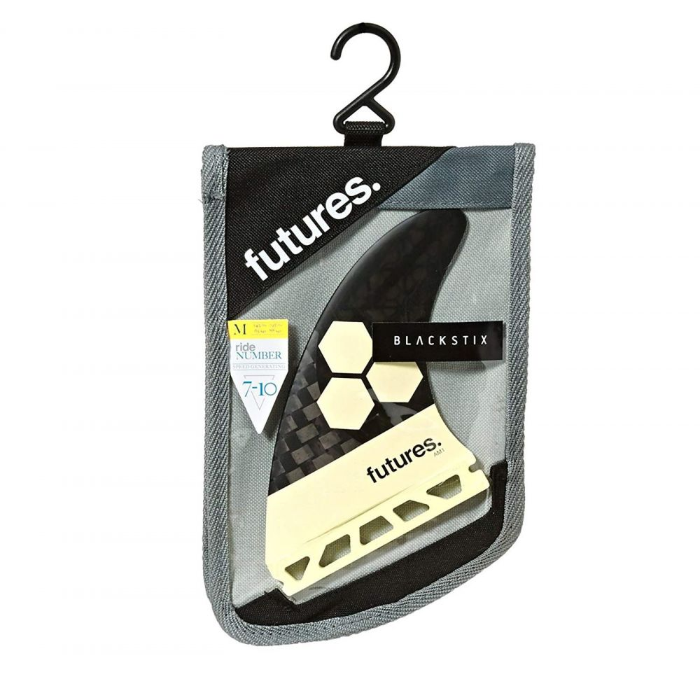 FUTURES Fins Thruster Set AM1 Al Merrick Blackstix