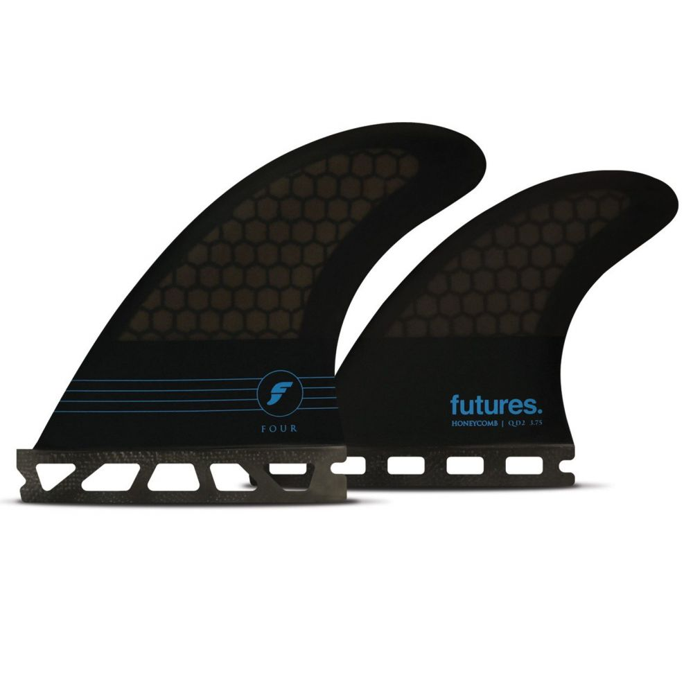FUTURES Quad Fin Set F4 Honeycomb