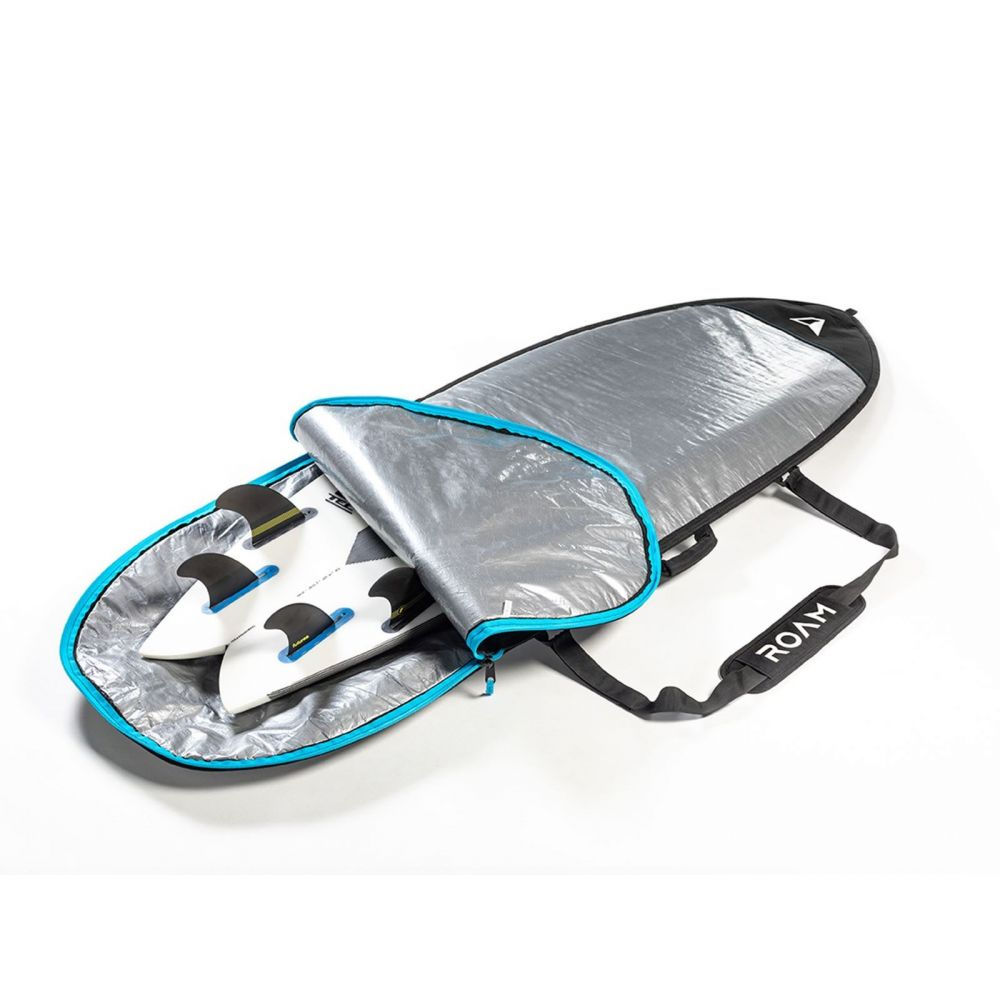 ROAM Boardbag Surfboard Day Lite Hybrid Fish 6.4