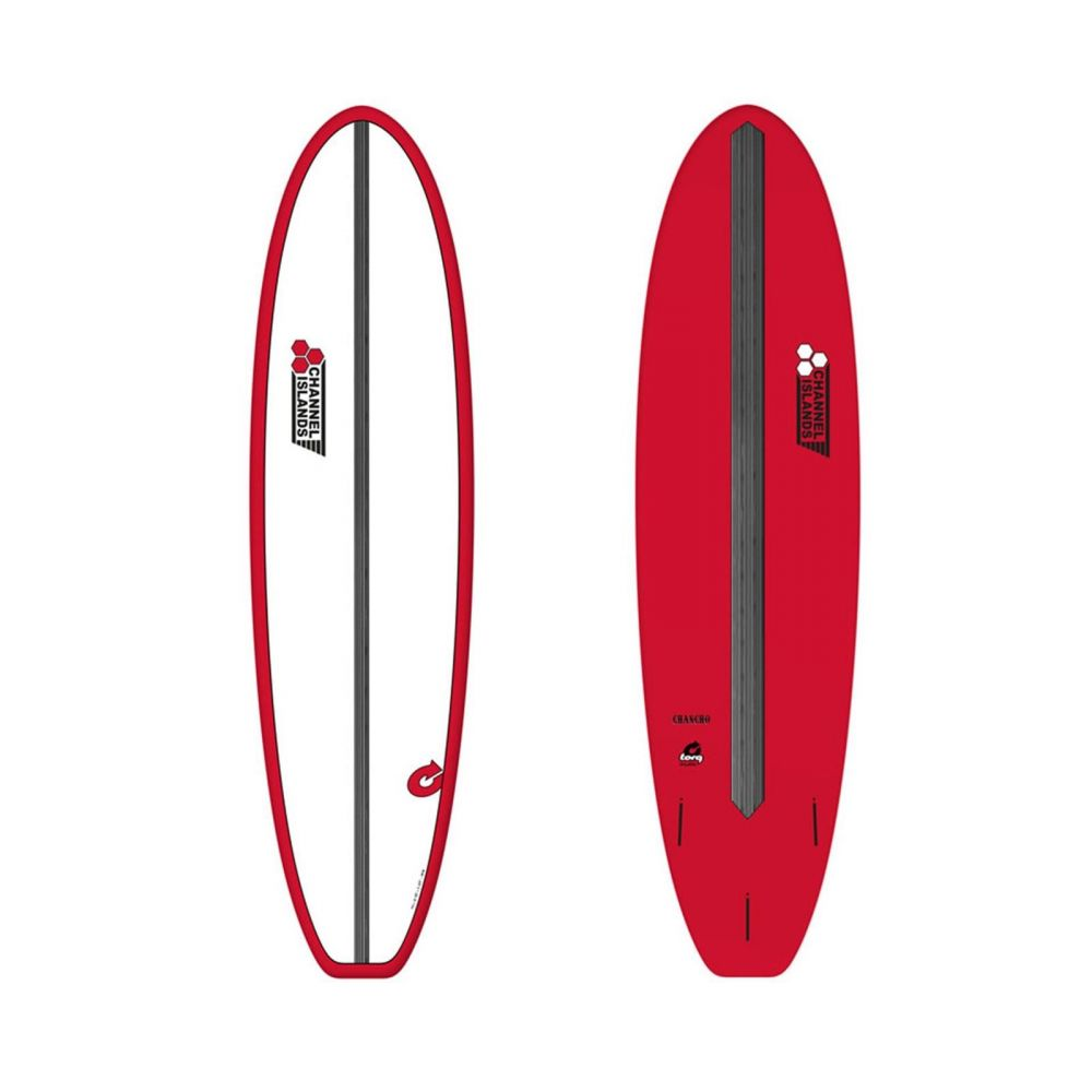 Surfboard CHANNEL ISLANDS X-lite Chancho 8.0 Red
