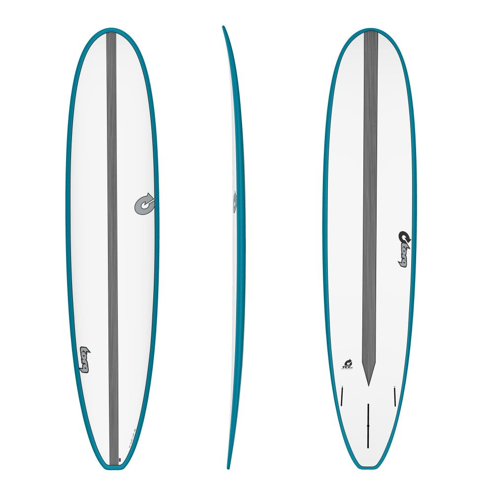 Surfboard TORQ Epoxy TET CS 9.0 Long Carbon Teal