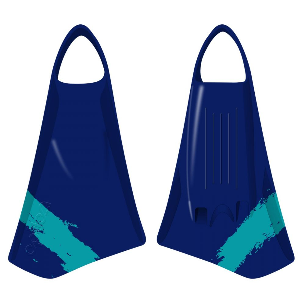 Bodyboard fin OPTION MK2 L 45-46 Navy Teal