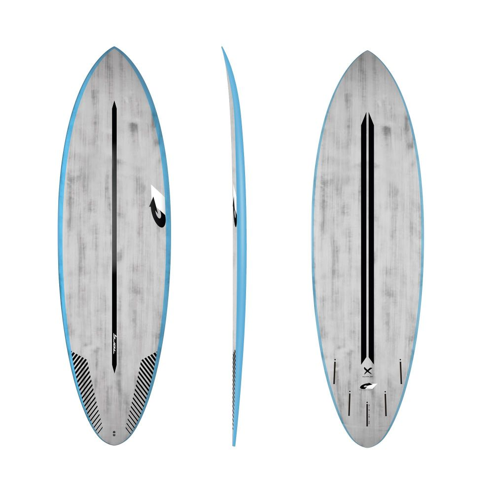 Surfboard TORQ ACT Prepreg Multiplier 6.4 BlueRail