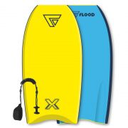 FLOOD Bodyboard Dynamx Stringer 42 Yellow Blue