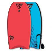 FLOOD Bodyboard Streak 42 Red-Blue tiger