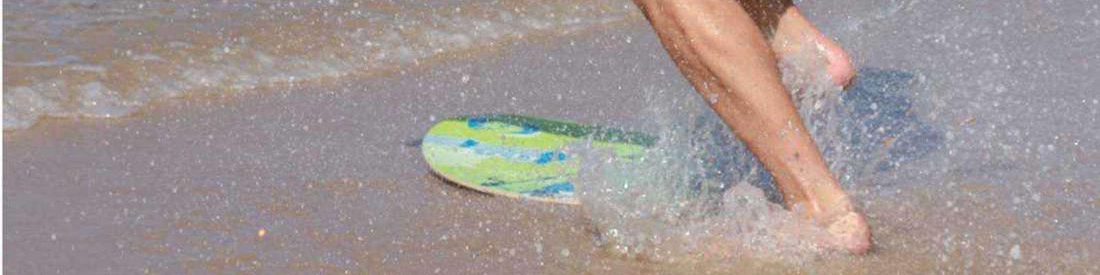 Skimboard BUGZ Wood M 99cm 39inch PUNK Weiterer Wassersport